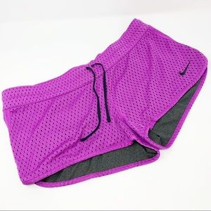 Nike Women's Reversible Athletic Drawstring Shorts
